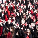 Hands Off Women - HOW - Flash mob One Billion Rising