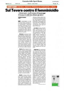 Gazzetta-dello-Sport---Sul-tevere-contro-il-femminicidio