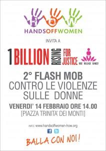 1BillionRising2014-Locandina